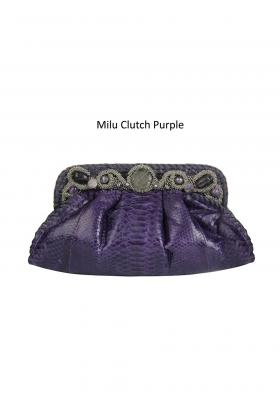 milu clutch purple