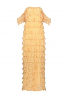 Fancy French dantel elbise