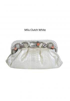 milu clutch white