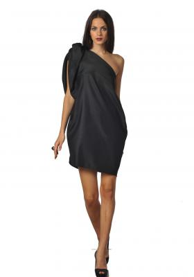 Siyah Shirley elbise