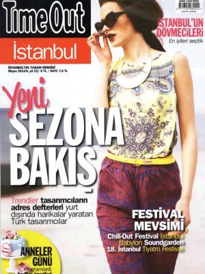 TimeOut İstanbul Mayıs 2012