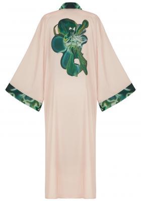 Pinkie Green Kimono